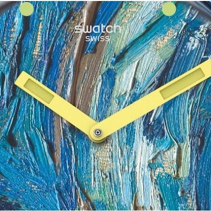 Swatch X MoMA - A arte moderna no nosso pulso.