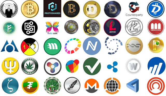 Image result for pictures of cryptocurrencies