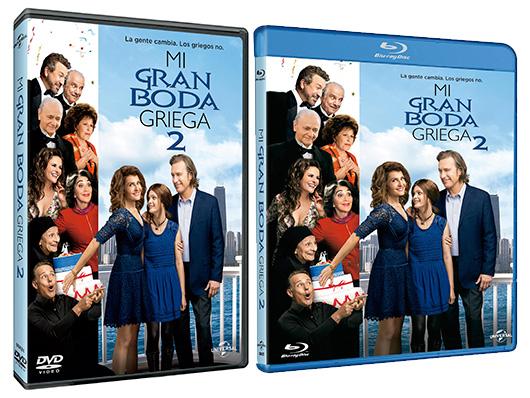 Ya a la venta 'Mi gran boda griega 2' en DVD y Blu-ray
