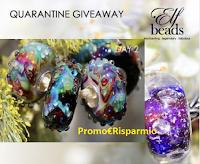 Logo #iorestoacasa ''Quarantena Giveaway'': vinci ogni giorno gioielli Elfbeads