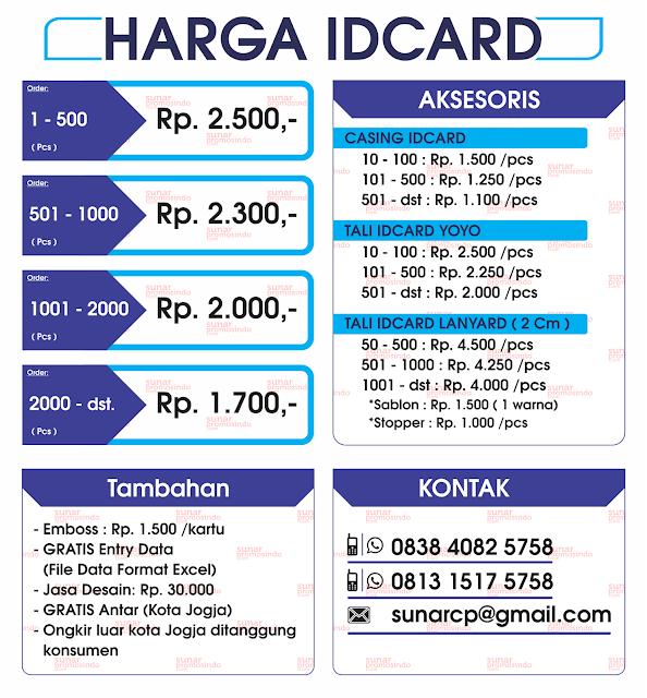 Cetak Id Card, Bikin Id Card, Pesan Id Card, Cetak Membercard, Bikin Membercard, Pesan Membercard
