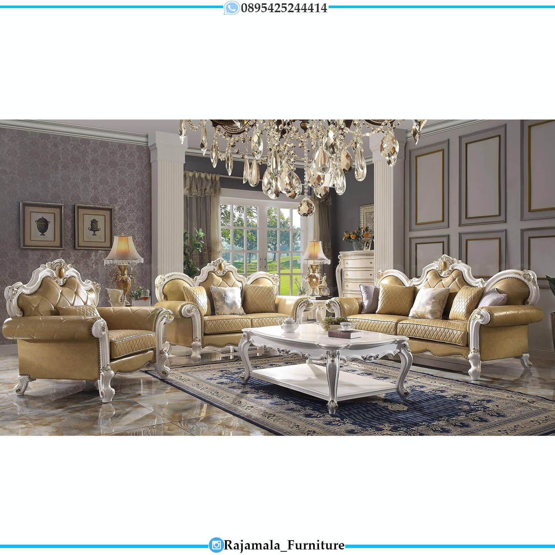 Jual Sofa Tamu Mewah Jepara Luxurious Set Classic Design RM-0494