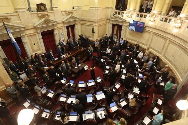 El Senado debate la Ley de Solidaridad Social