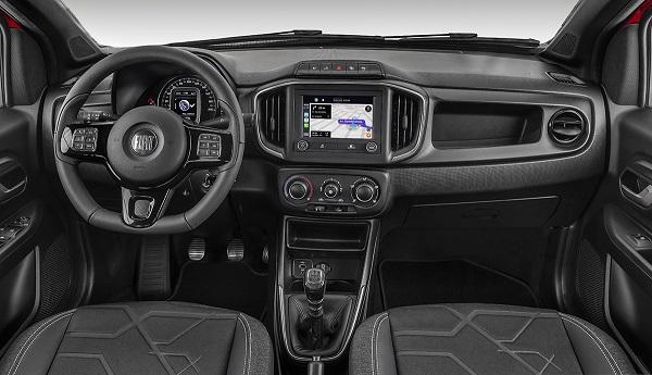 Interior Fiat Strada 2020