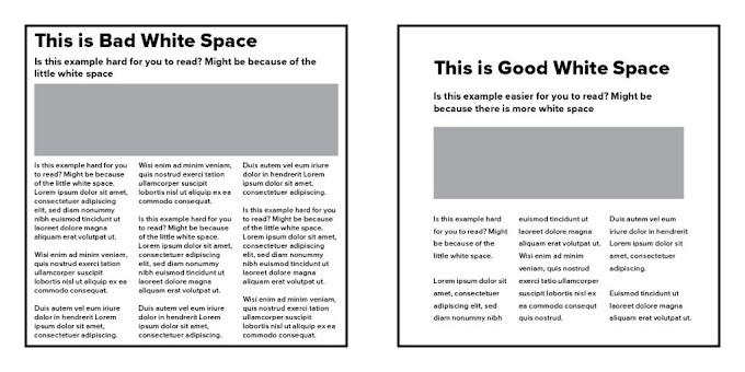 White Space : Elemen Penting yang Sering Dilupakan