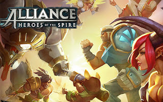 Alliance Heroes of the Spire V47934 MOD Apk + Data