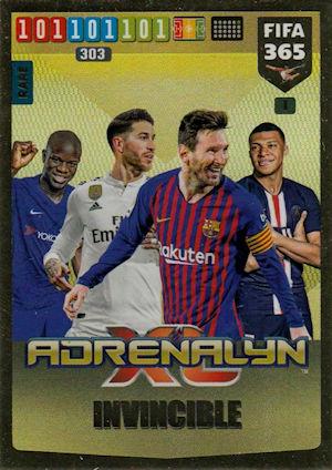 PANINI ADRENALYN XL FIFA 365 2020 IMPACT SIGNING Nº 121 Eden Hazard Real Madrid