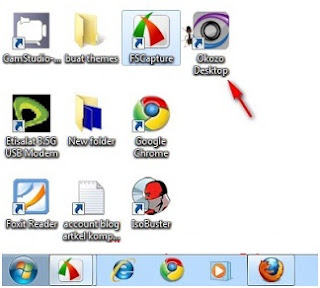 Mengaktifkan dan menonaktifkan okozo flash wallpaper windows 7