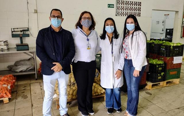 Hospital São João de Registro-SP recebe mais de duas toneladas de alimentos da Ceagesp