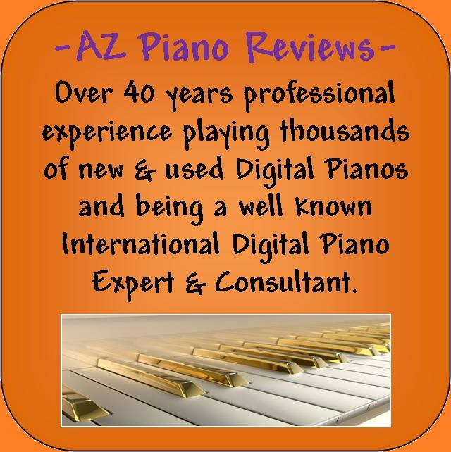 AZ Piano Reviews sign