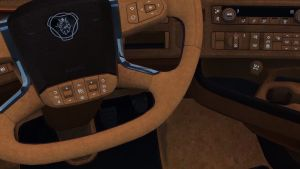 Brown interior mod for new Scania 2016 trucks