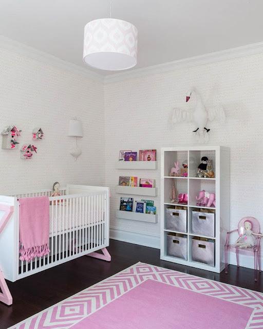 Phòng ngủ đáng yêu cho bé gái - cô công chúa nhỏ trong nhà