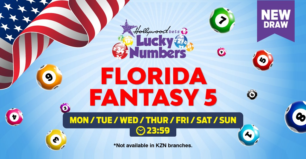 Hollywoodbets Sports Blog: Florida Fantasy 5 - Lucky Numbers