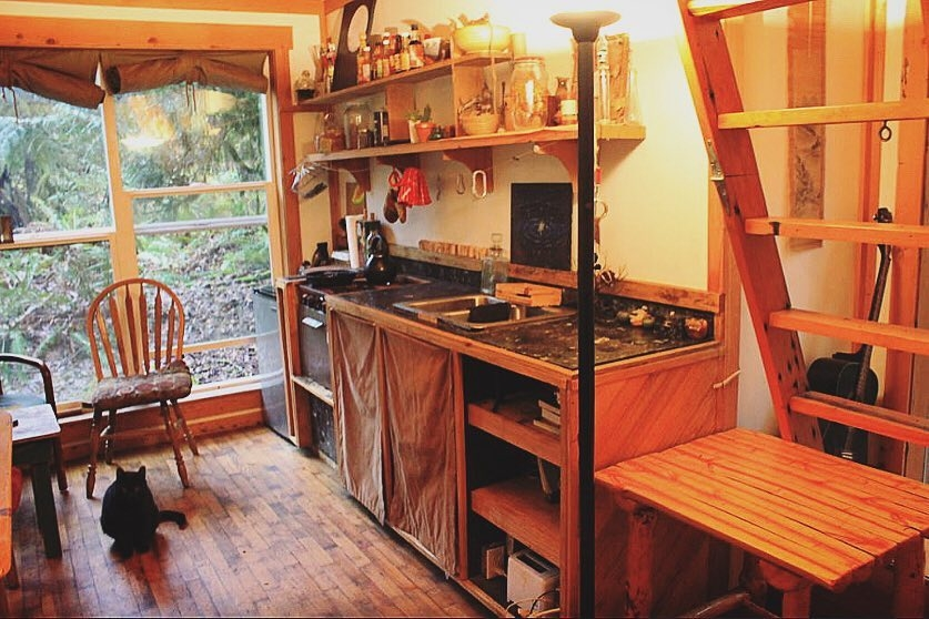 03-Kitchen-Area-Jacob-Witzling-Recycled-Architecture-with-the-1-Bedroom-USD7500-Micro-House-www-designstack-co