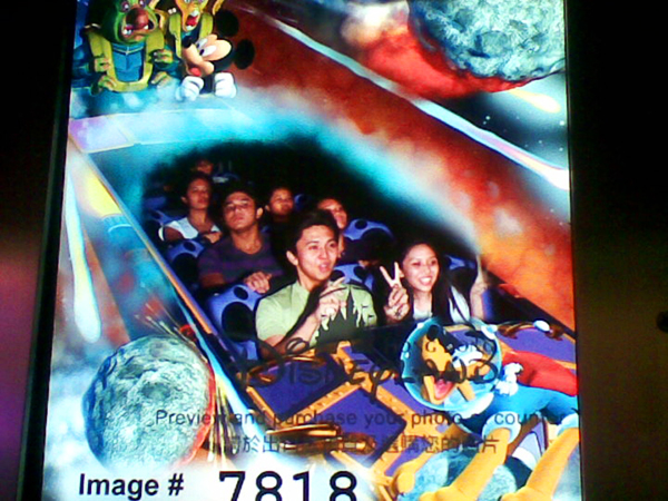 space mountain ride