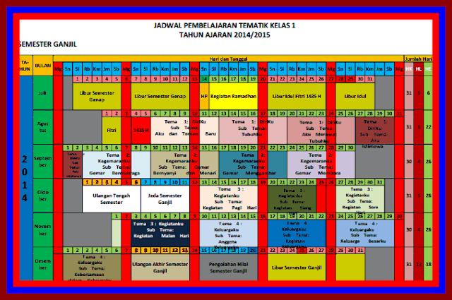 Aplikasi Jadwal Pelajaran Versi Terbaru Lengkap Dengan Tabel Guru Pengajar