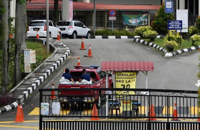 Senarai 298 Sekolah Ditutup di Zon Merah Daerah Petaling