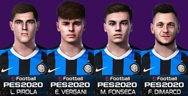 Inter Milan Mini Facepack PES 2020
