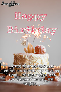birthday wish for friend in bangla funny