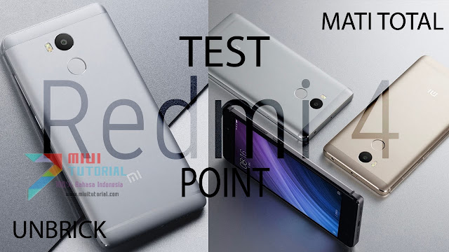 Punya Xiaomi Redmi 4 Prada Tapi Bootloop, Hardbrick Bahkan Mati Total? Coba Tutorial Test Point Berikut Ini!