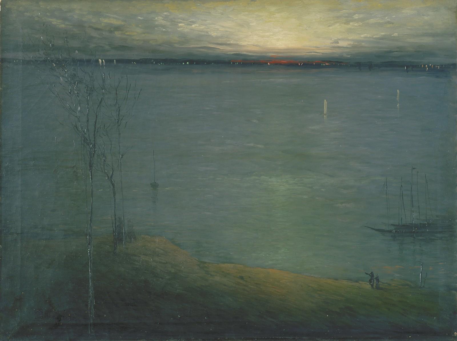 19th Century American Paintings Leon Dabo