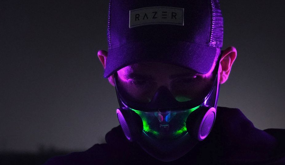 "Razer Claims That they Have ""World's Smartest Face Mask"" Concept"