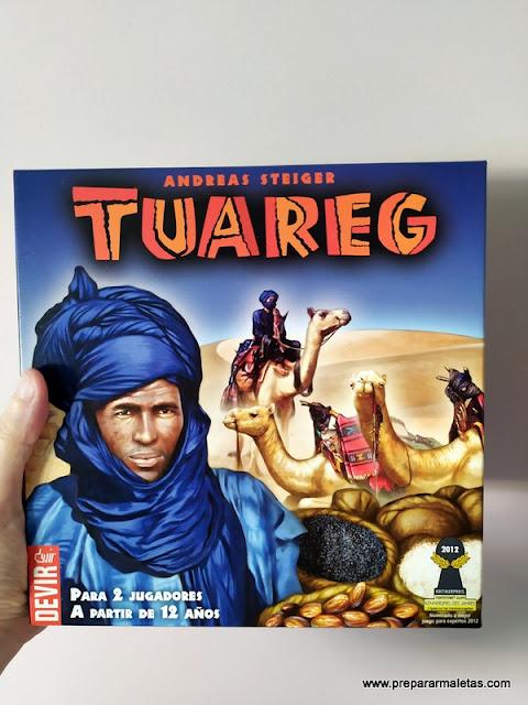 juego de mesa para viajar al desierto, Tuareg