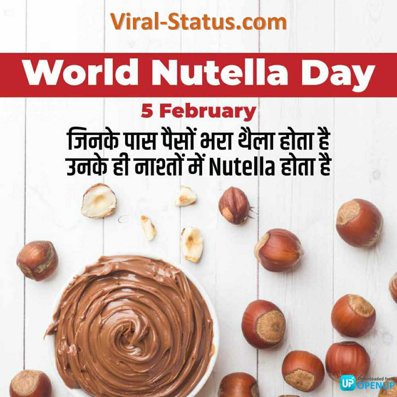 happy world nutella day