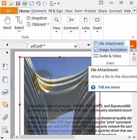 Cara Menambahkan Gambar ke Dokumen PDF-1