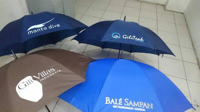 Sablon Payung Aneka Desain