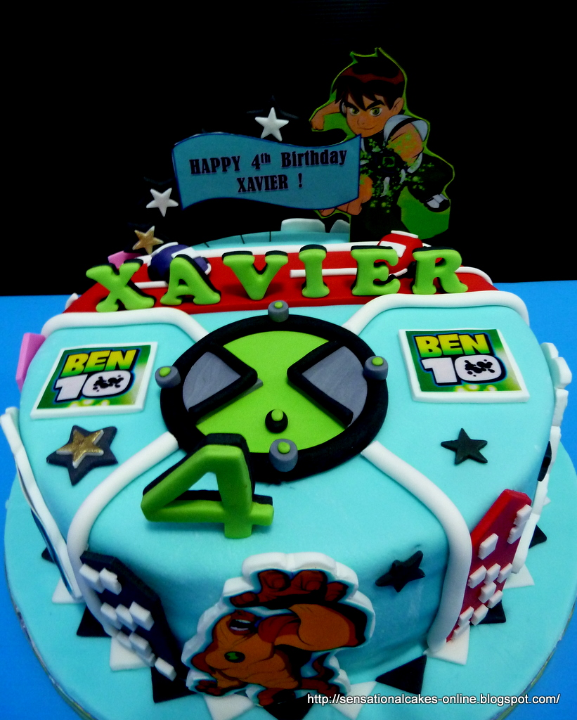 The Sensational Cakes: Ben 10 Cake 3D Singapore : Xavier