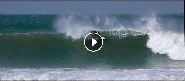Filipe Toledo one wave at J-Bay