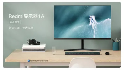 Redmi Display 1A Monitor Launched With FULL HD IPS Display Of 23.8-Inch