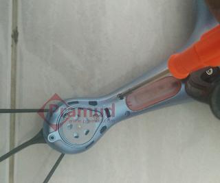 syma indonesia, cara melepas casing bodi drone syma x5hw - pramud