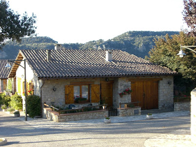 Typical house in Tavertet