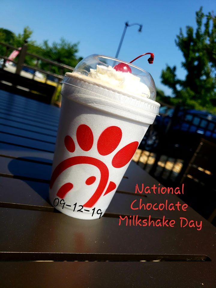 National Chocolate Milkshake Day