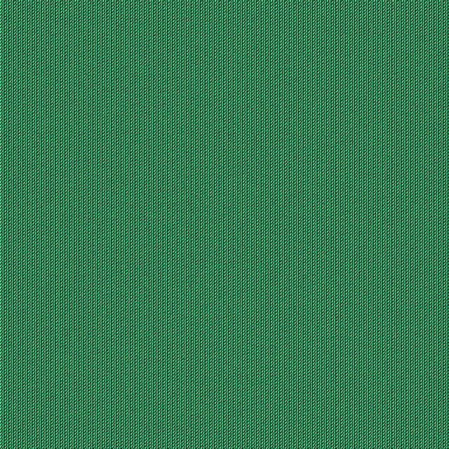 Seamless green wool fabric texture