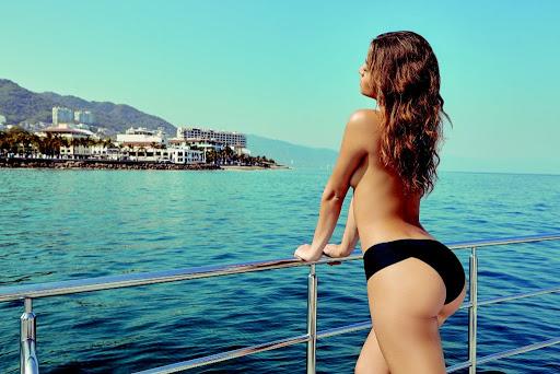 Daniela Lopez Osorio topless photo shoot for Maxim Magazine Colombia