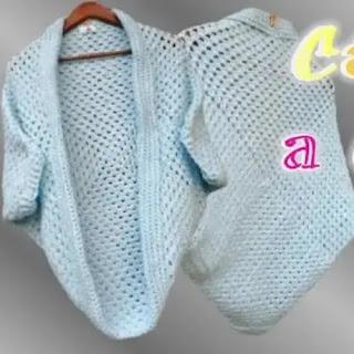 Cardigan a Crochet