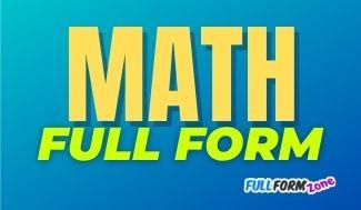 MATH Full Form