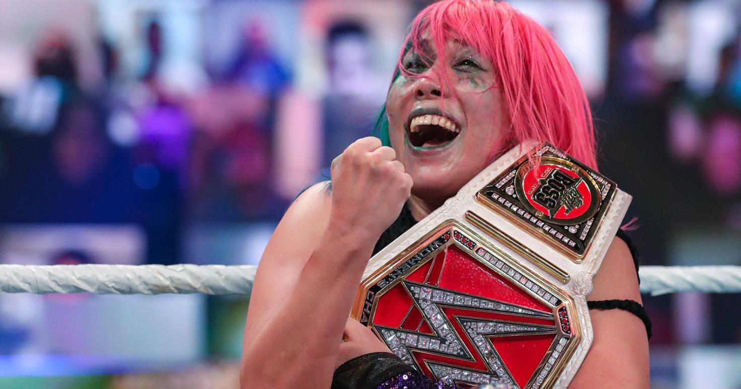 WWE abandonou vários planos para o futuro do RAW Women's Championship