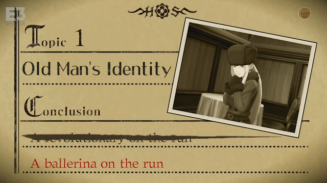 The Great Ace Attorney old man's identity topic 1 ballerina