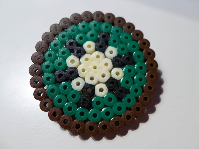 kiwi perles hama