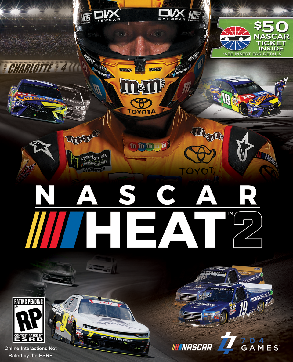 Nascar heat 2 to include 50 off purchase of any 2017 2018 nascar 704games and speedway motorsports inc nysetrk announced wednesday that retail editions of nascar heat 2 the new nascar console game will include pronofoot35fo Image collections