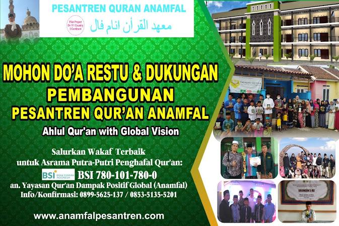 Salurkan Wakaf Terbaik untuk Pembangunan Asrama Putra-Putri Penghafal Qur'an