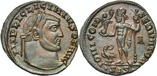 a nombre del Augusto de oriente Licinio