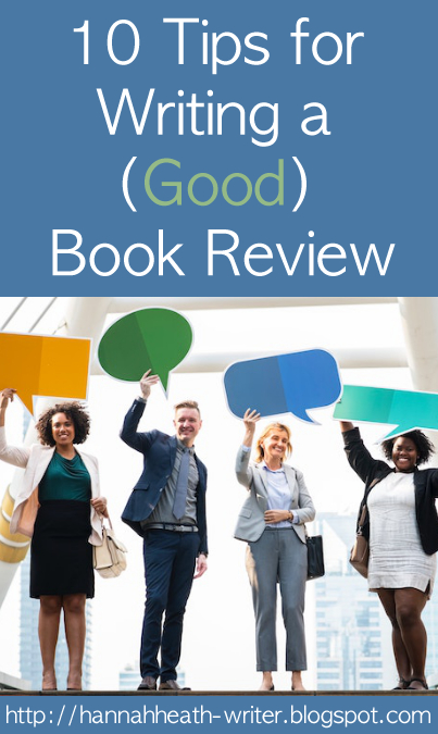 10 Tips for Writing a Good Book Review