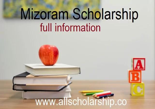 Mizoram Scholarship Portal 2021