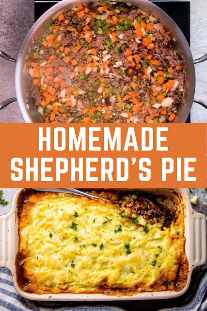 Homemade Shepherd's Pie