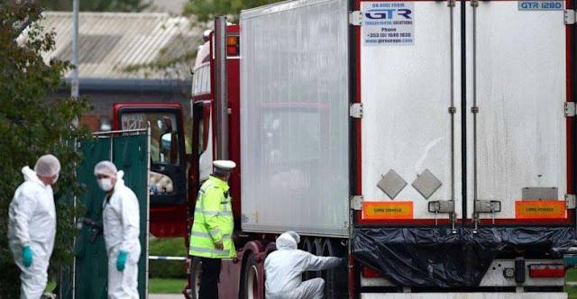 Chính thức: Cả 39 người thiệt mạng trong container ở Anh đều là người Việt Nam